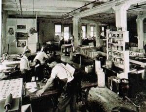 taller de impresión