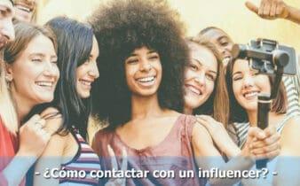 como contactar con un influencer